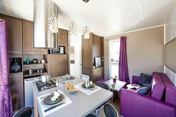 MH confort 1 chambre camping bretagne sud