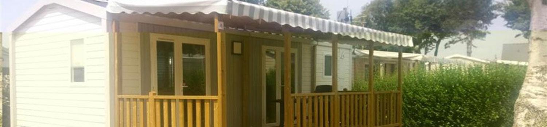 MH confort + 2 chambres caming bretagne sud