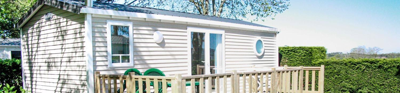 MH confort 2 chambres camping jardins kergal