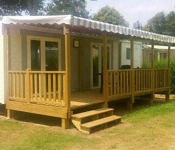 MH confort 2 chambres camping kergal