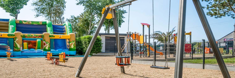 aire de jeux enfants camping Morbihan