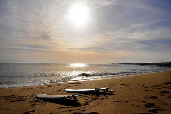 seaside campsite pays de lorient