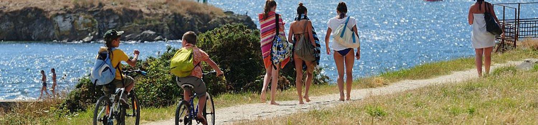 seaside camping ploemeur