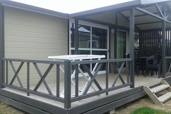 chalet confort 3 chambre camping kergal