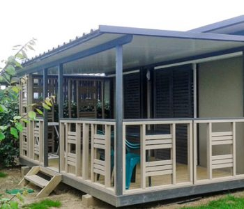 Rezeption - Camping les Jardins de Kergal