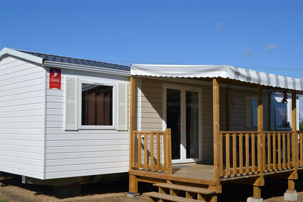 confort + 4 chambres camping bretagne sud