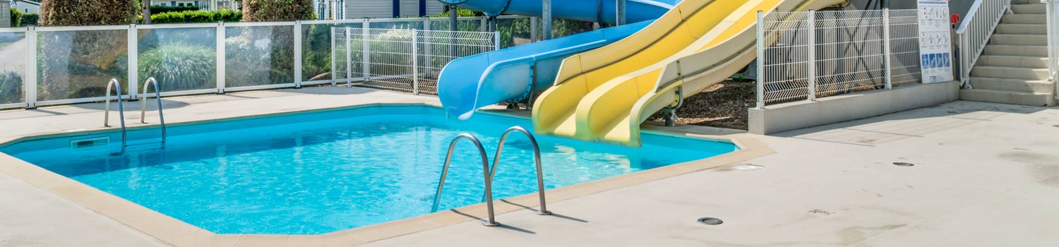 outdoor swimming pool camping kergal
