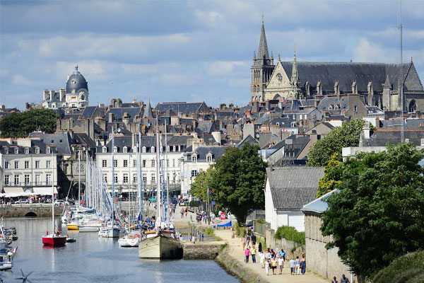 city vannes campsite south brittany