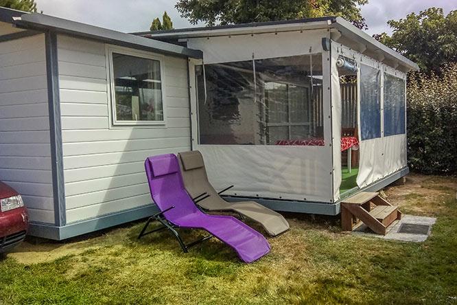 sale mobile home SAMOA 39 M² camping guidel